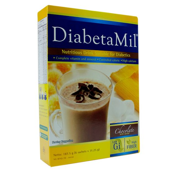 DiabetaMil ND Chocolate 500g