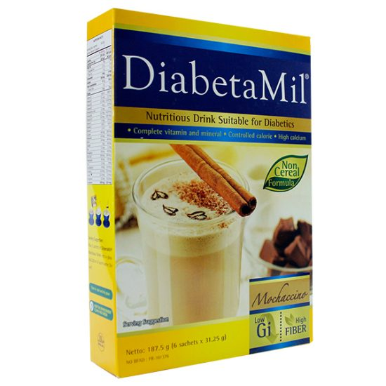 DiabetaMil ND Mochaccino 187.5g