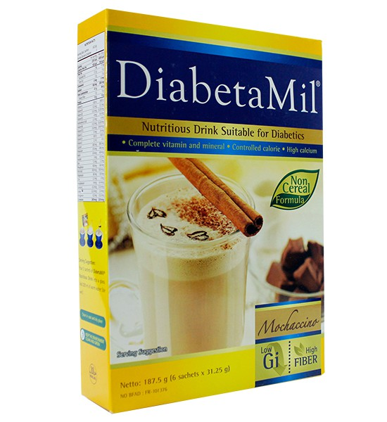 Diabetamil-ND-Mochaccino-187g