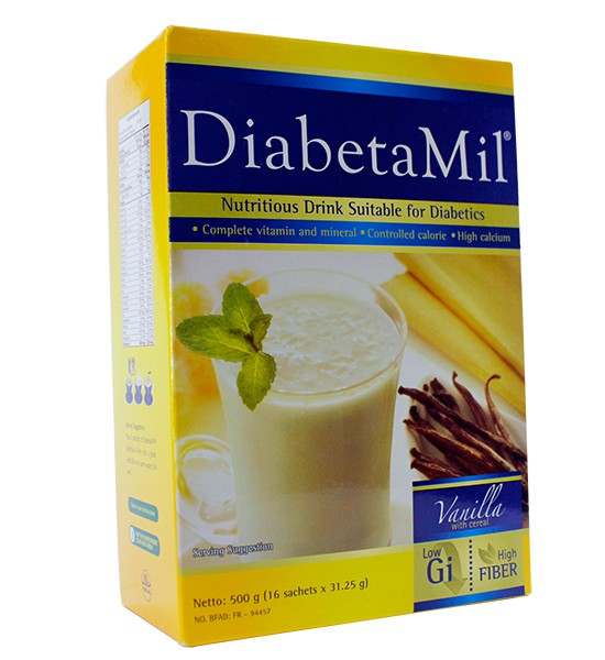 Diabetamil-ND-Vanilla-500g