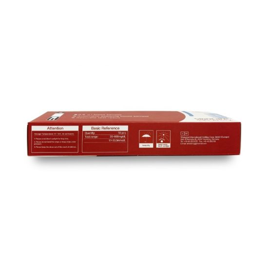 Sinocare Safe-Accu 2 Blood Glucose Test Strips 50s
