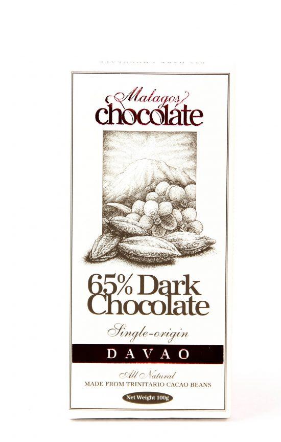 Malagos 65% Dark Chocolate 100G