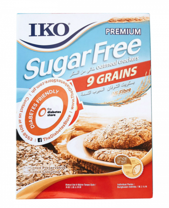IKO Sugar Free 9 Grains Cracker 178G