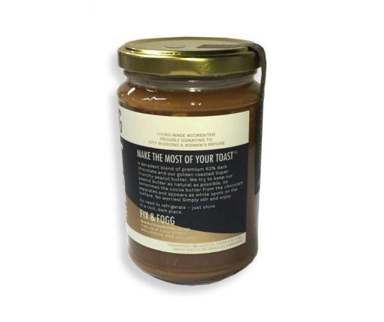 Fix & Fogg Peanut Butter Dark Chocolate