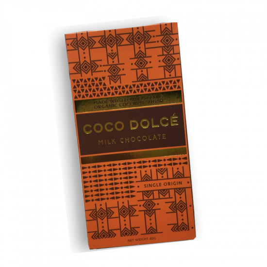 Coco Dolce Milk Chocolate 80g