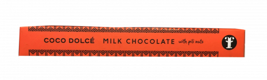 Coco Dolce Milk Chocolate with Pili Nuts 45g