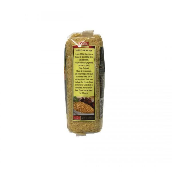 Durum Bulgur Coarse 500g