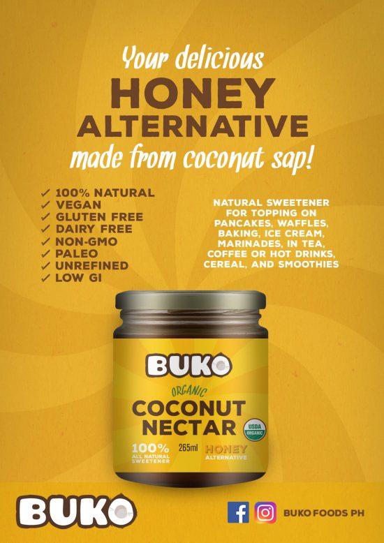 Buko Organic Coconut Nectar 265g