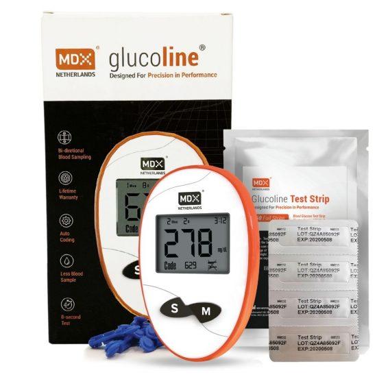 MDX Glucoline Starter Kit (with 50 strips)
