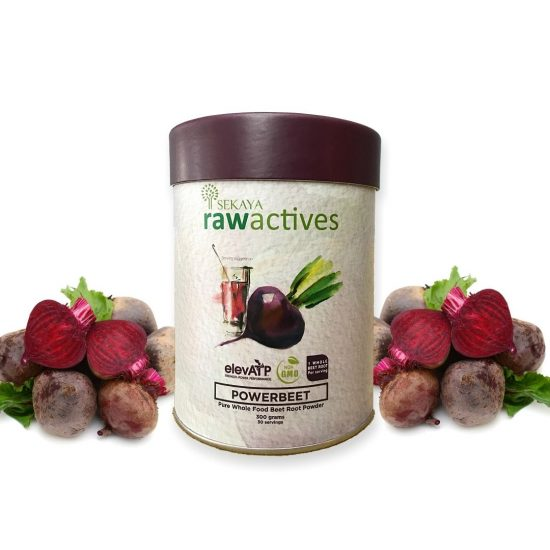 Sekaya Raw Actives Powerbeet 300g