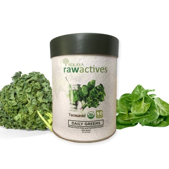Sekaya Raw Actives Daily Greens 300g