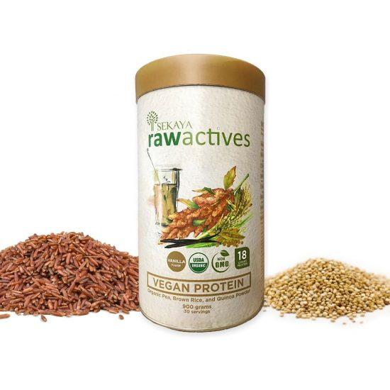 Sekaya Raw Actives Vegan Protein 900g