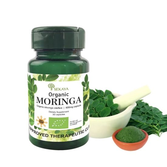 Sekaya Food Supplements Organic Moringa Bot 30s