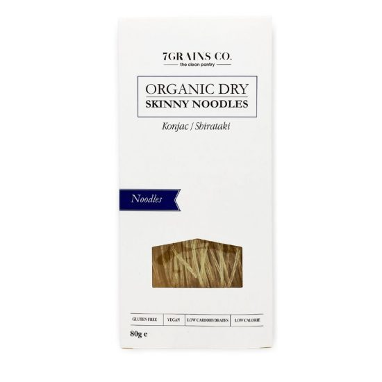 Organic Dry Skinny Noodles 80g