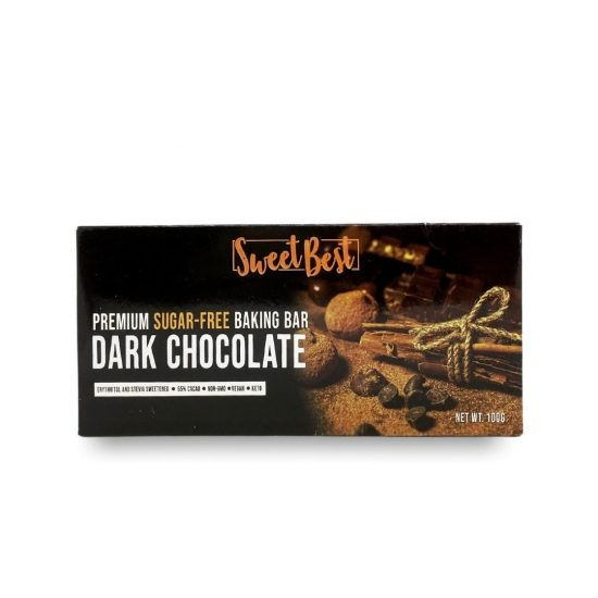 Sweet Best Sugar-free Baking Chocolate 100g