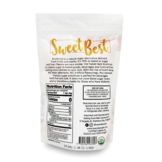 Sweet Best Erythritol 250g