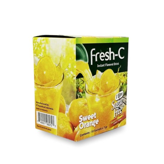Fresh-C Instant Sweet Orange Flavored Drink