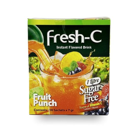 Fresh-C Instant Fruit Punch Flavored Drink