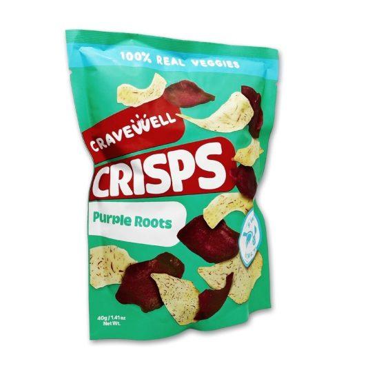 BUY 1 GET 1-Cravewell Purple Root Crisps Sweet & Salty
